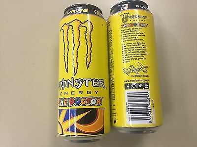 Empty Can dosen canette Monster The Doctor Energy Drink Edition Spain