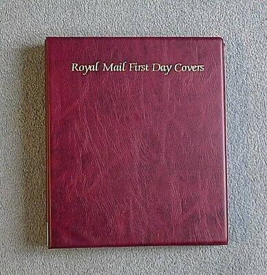 Royal Mail First Day Covers Album with 18 sleeves (72 capacity)