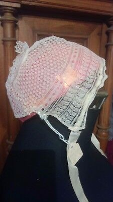 Knitted Bonnet From Miss Scott