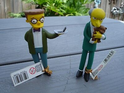 Simpsons Figures Mr Burns And Smithers Greetings From Springfield Series 4