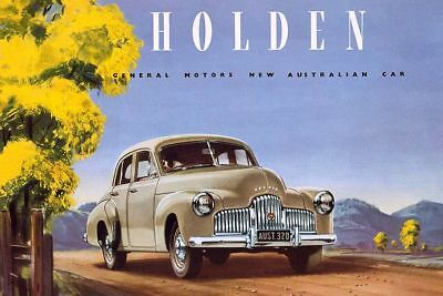 Holden FX / FJ Holden AD 50's-60's Sticker or Magnet