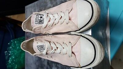 CONVERSE One Star pink Canvas Sneakers  womens size 5.5 low tops chuck taylor