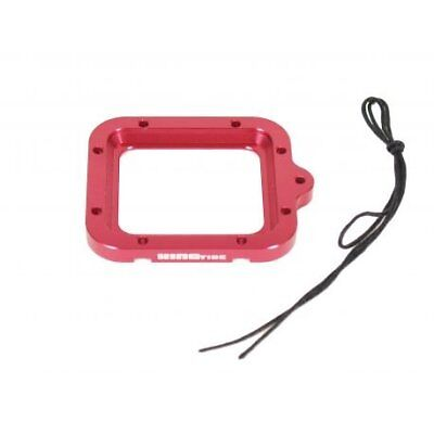 Aluminium Safety Lens Ring For Gopro Hero3 Kingtide - Red, U