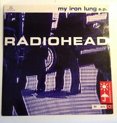 "Radiohead My Iron Lung EP 12"" Numbered Limited Edition"