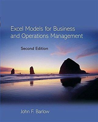Excel Models for Business and Operations Management
