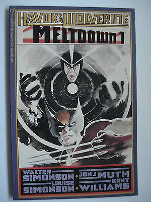 HAVOK & WOLVERINE MELDOWN Vol. 1  ENGLISH EPIC COMICS 1988
