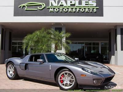 2006 Ford Ford GT Base Coupe 2-Door 2006 Ford GT 6 Speed Manual, No Stripes, BBS Wheels, McIntosh, Red Calipers