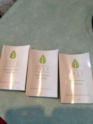 NEW Sylk Lubricant & Natural Intimate Moisturiser Best Before Feb And Oct 19 X 3
