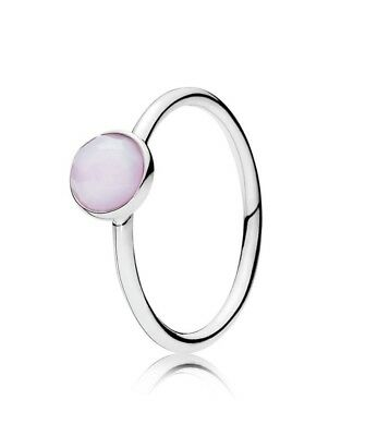 Pandora October Droplet Birthstone Ring S925 ALE Size 54 FREE GIFT POUCH