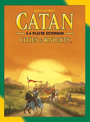 Catan Cities & Knights 5-6 Player Extension 2015 Refresh  AC NEU