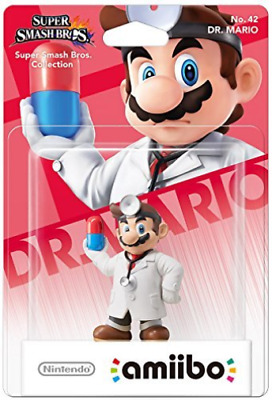 Wii-U-Nintendo Amiibo Character - Dr. Mario (Super Smash Bros. Collection AC NEU