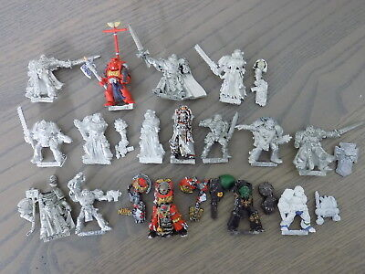 40k Space Marines metal SPACE MARINES x14 Various Types GW Citadel 44250