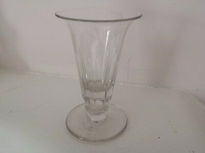 ANTIQUE JELLY GLASS (EXCELLENT CONDITION) (10,5 cm high)