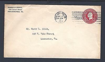 mjstampshobby 1927 US Cover Vintage VF Cond (Lot 2284)
