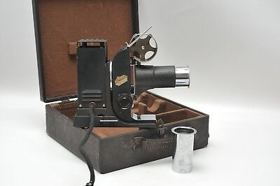 "Antique ""picturol"" Film Projector With 2 Lense"