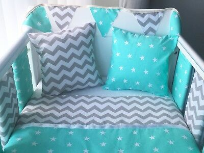 Handmade Cushion Cover Grey Chevron Zig Zag
