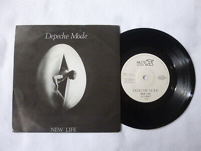 "Depeche Mode ~ New Life ~ 1981 Uk 1St Press Synth 7"" Vinyl Single ~ Plays Well"