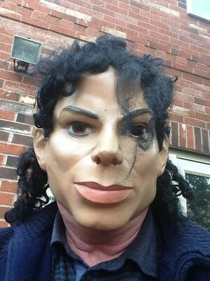 Micheal Jackson Fancy Dress Latex Mask