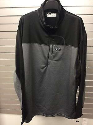 Drake Waterfowl Systems 1/4 Zip Pullover For Men Size 3XL