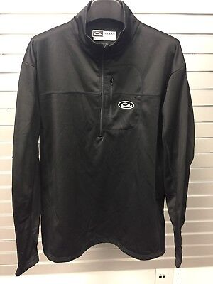 Drake Waterfowl Systems 1/4 Zip Pullover For Men Size Medium