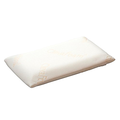 Clevafoam Toddler Pillow Reduces the Effect of Flat Head Syndrome AirFlow Fabric