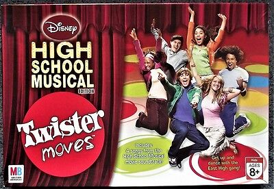 HSM High School Musical Twister Moves Game - VGC - Just Missing Instructions
