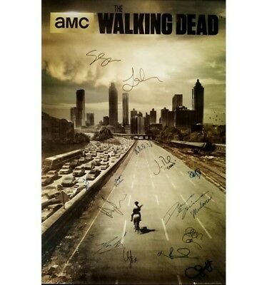 The Walking Dead  *signed Printed* Repro  Script  Screenplay Pilot Episode