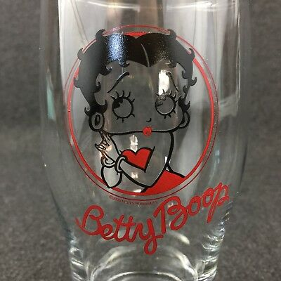 Betty Boop Drinking Glass Souvenir Tulip Pint Cup Mug