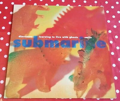 "Submarine - Dinosaurs - Original 1993 UK 12"" Vinyl"