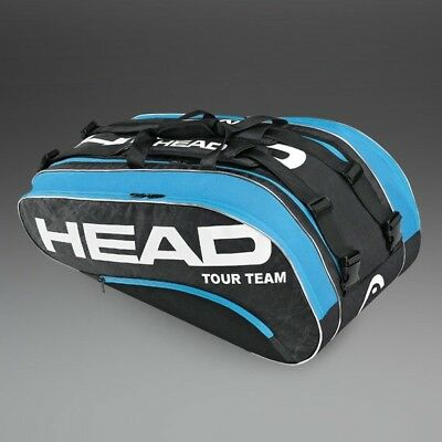 Head Tennis Tour Team Monster Combi Bag 10-12 Rackets RRP £50