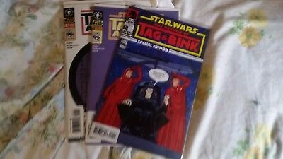 Star Wars Tag and Bink are Dead (2001) #1 & 2 Complete Set Avg NM- Dark Horse