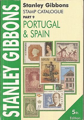 Stanley Gibbons Stamp Catalogue Part 9 Spain, Portugal & Colonies (2004)