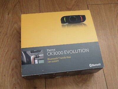 Parrot CK3000 Evolution Bluetooth Hands-Free Car System