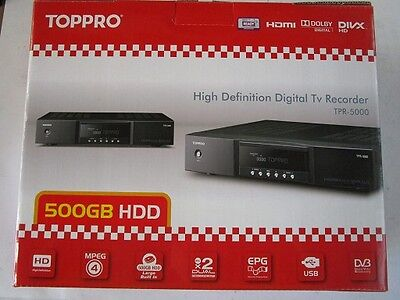 Toppro HD Digital TV Recorder TPR-5000 without Remote Control and Accessories