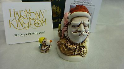 Harmony kingdom  SANTA  2017  MAIL SHOT MADE IN  England, Peter Calvesbert,