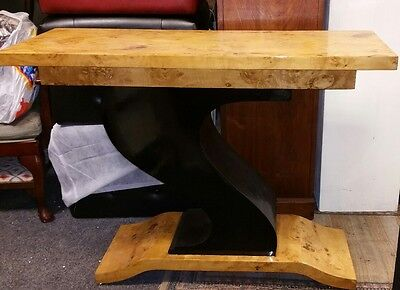 Art Deco Hall Table Z Shape Console Tables Design Interiors