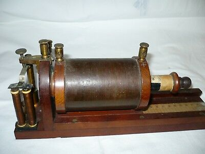 Ruhmkorff Induction Coil Adjustable old medical instrument