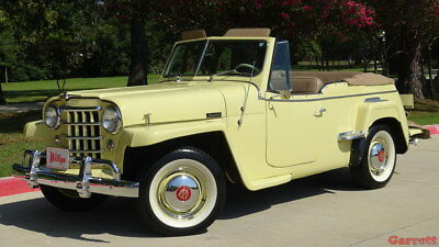 1950 Willys 439 Convertible 1950 Willys Jeepster Restored