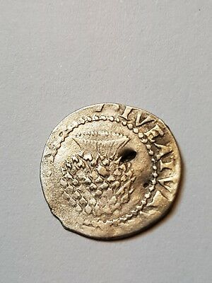 Silver  British  Hammered Coin - Penney - James I.