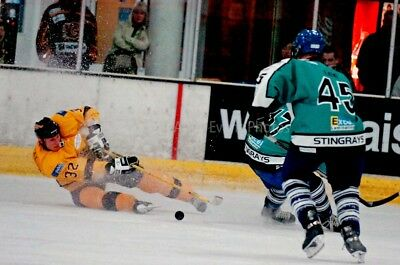 Bracknell Bees Ice Hockey The Hive Berkshire action photograph picture art print