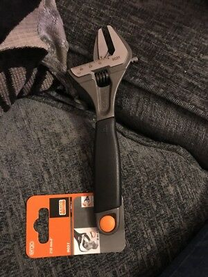 Bahco 9031 Ergo Wide Jaw Adjustable Wrench 8""