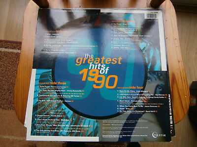 the greatest hits of 1990-2 disc lp=12