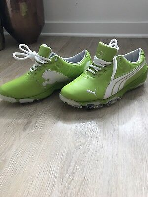 RARE PUMA Golf Biofusion Shoes. Made for Rickie Fowler. Men's size 9.