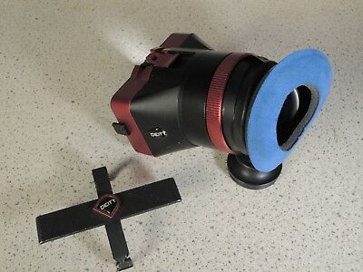 Deity Mira viewfinder loupe for Canon C300