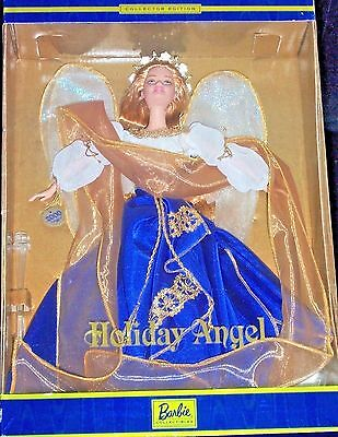 Holiday Angel  Barbie Collectors Edition issued in 2000 by Mattel