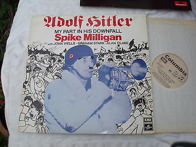 SPIKE MILLIGAN ADOLF HITLER MY PART IN HIS DOWNFALL LP 1981.UK Record.Goons.