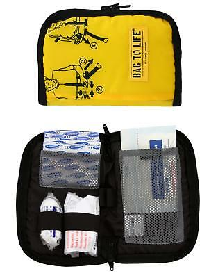 BAG TO LIFE First Aid Kit Erste Hilfe Tasche Upcycling Rettungsweste Notfallbag