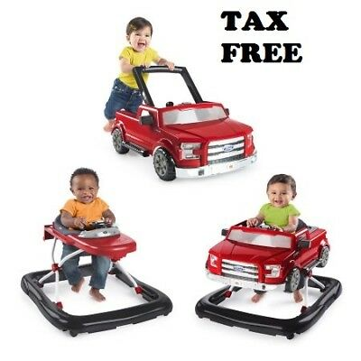 Baby Walker For Boys Toddler Activity Car Toy Infant Walk Learning Assistant Red