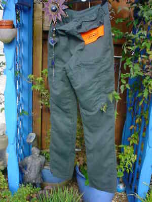 BOXER  ChainSaw Trousers , Size 34 waist