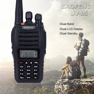 BAOFENG UV-B5 Professional Walkie Talkie Dual Band FM Radio Transceiver CTCSS